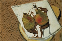 untitled (seated nude) by milton avery