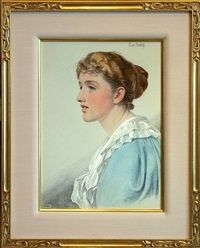 marie meredith by frederick sandys