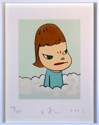 in the cloud by yoshitomo nara
