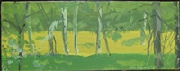 green forest by alex katz