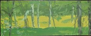 green forest by alex katz