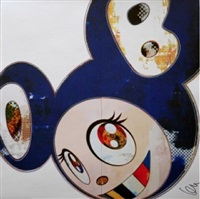 and then 3000 (blue) by takashi murakami