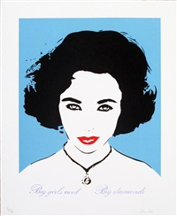 liz taylor (light blue) by bambi