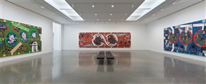 installation view of lari pittman: <i>from a late western impaerium</i>