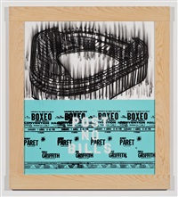 stadium boxeo by gary simmons