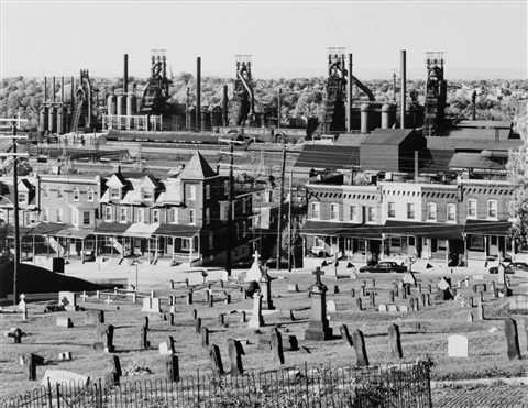 industrial landscapes: bethlehem, pennsylvania, u.s.a. by bernd and hilla becher