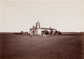 mission san luis rey by carleton e. watkins