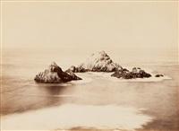 seal rocks, cliff house, san francisco by carleton e. watkins
