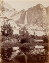 yosemite falls, 2634 ft. by carleton e. watkins