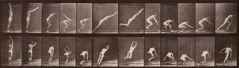 jumping, standing broad jump by eadweard muybridge