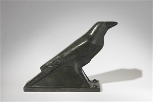 'corneille' / 'crow' by joseph csaky