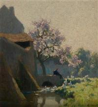arbres en fleur by alexandre jacob
