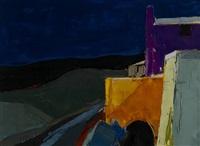 landscape - menerbes by donald hamilton fraser