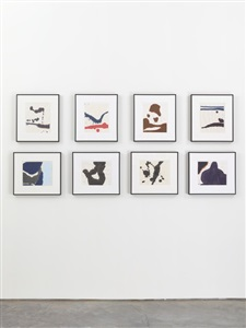 robert motherwell works on paper 1951 1991 installation view