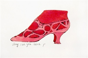 anyone for shoes? by andy warhol