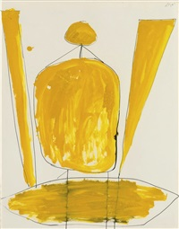 composition (man) by robert motherwell