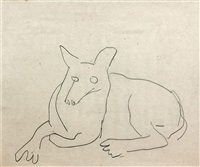 chien by fernand léger