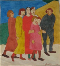 family group by horace asher brodzky
