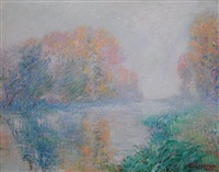 bords de l'eure by gustave loiseau