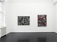 zwischen licht und schatten, installationsansicht / installation view by a.r. penck