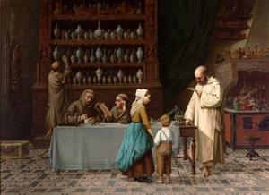 la pharmacie de l'abbey by victor françois jeanneney