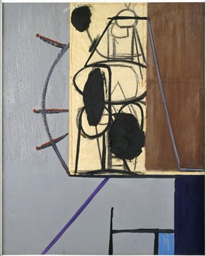a wall in italy by robert motherwell