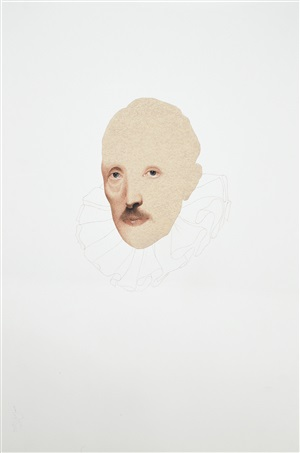self-portrait after cornelis van der geest by irfan hasan