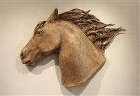 one horse head by janet nelson