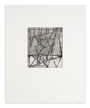 etchings to rexroth, 25 by brice marden