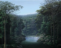 meditacion y sonido de aguas by tomás sánchez