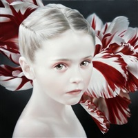 red & white by david michael smith