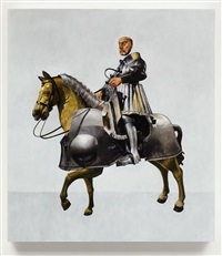 henry the eighth on horseback by mark fairnington