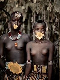 barga & hammarech, banna tribe bori village, southern omo valley, ethiopia by jimmy nelson