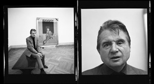 francis bacon at the metropolitan museum of art, new york by henry benson