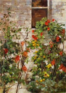 window garden (sold) by kathy anderson