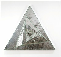 untitled (triangle) by monir shahroudy farmanfarmaian