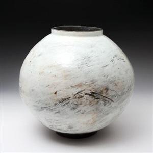 moon jar by kang hyo lee