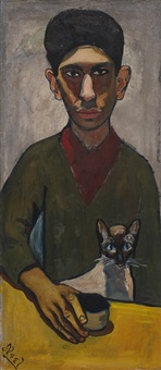 eddie zuckermandel by alice neel