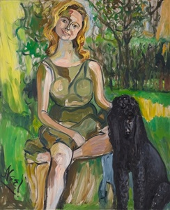 alice neel my animals and other family by alice neel