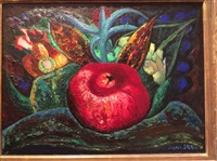pomegranate, barbados by joseph stella