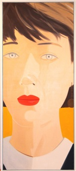 samantha i by alex katz