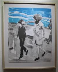 john & jackie by elizabeth peyton