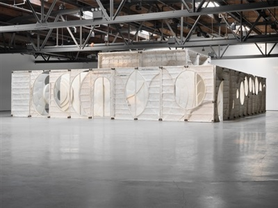 installation view hauser wirth by thomas houseago