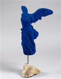victoire de samothrace / the victory of samothrace by yves klein
