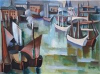 port de bordeaux by andré lhote