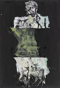 the armory show by georg baselitz