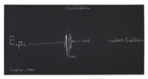blackboard continuum by joseph beuys