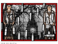 8 45 am by gilbert & george