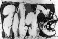 la caída de franco (a triptych) by josé luis cuevas