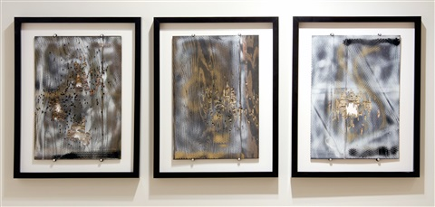 untitled triptych by william s burroughs